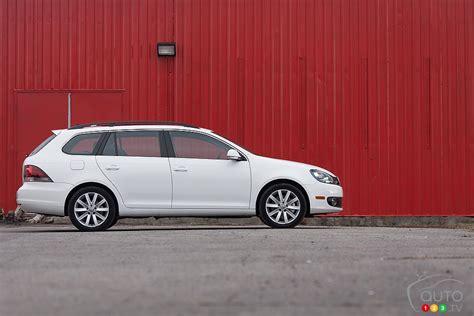 2013 Volkswagen Golf Tdi Review by 2013 Volkswagen Golf Wagon Tdi Highline Car News Auto123