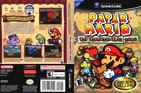 Paper Mario And The Thousand Year Door by Ngc Paper Mario The Thousand Year Door Ntsc Ingles