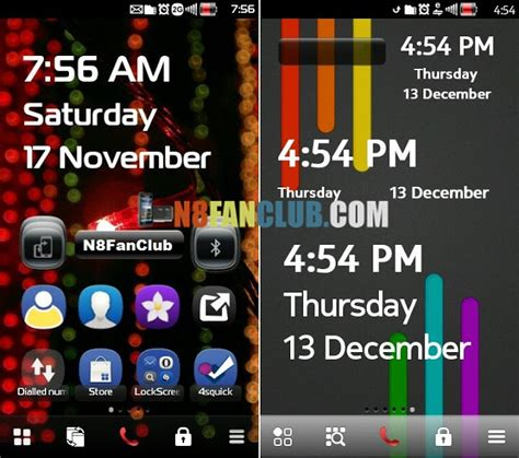 java themes dow wp7 clock widget s for nokia n8 other belle smartphones