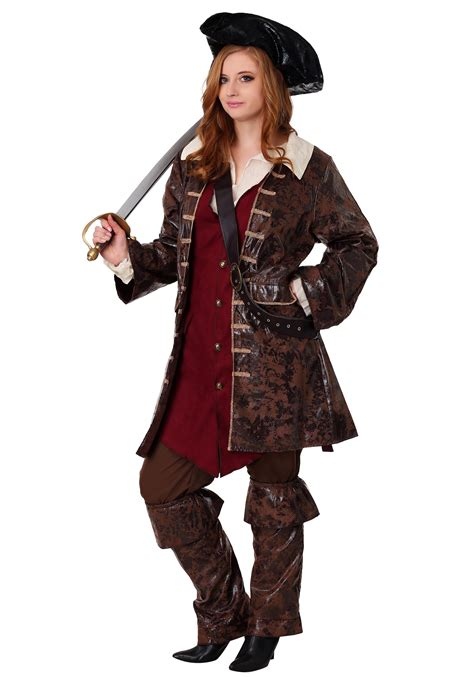 pirate costume plus size plundering pirate costume womens caribbean