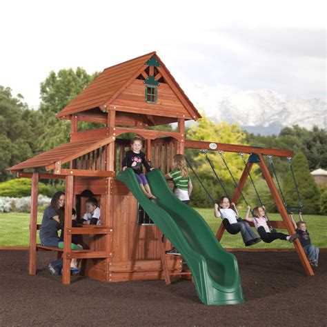 best backyard play structures yosemite play set by backyard adventures family leisure