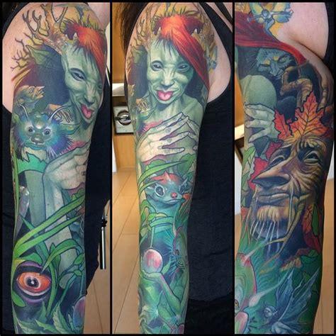 steve moore tattoo sleeve by steve tattoos