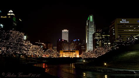 omaha downtown christmas lights flickr photo sharing