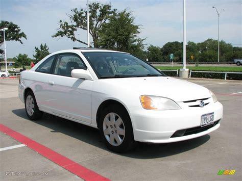 2002 Honda Civic by 2002 Taffeta White Honda Civic Ex Coupe 17743870 Photo 7