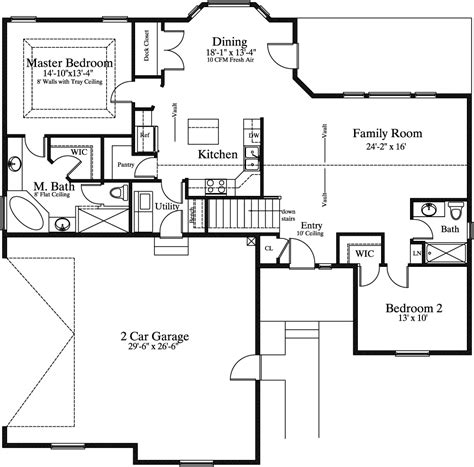 19 home plans with master on main floor rooftop bars 1514 1 needahouseplan com