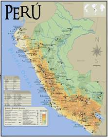 south america tourist attractions map large tourist map of peru peru south america