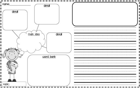 biography graphic organizer 1st grade made for 1st grade writing graphic organizer