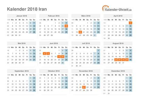 Iran Kalendar 2018 Feiertage 2018 Iran Kalender 220 Bersicht