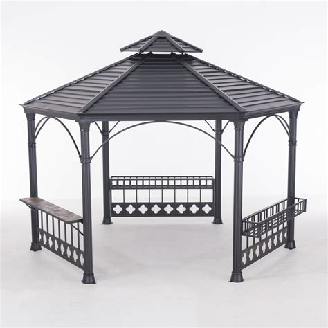 gazebo hexagonal garnett hexagonal gazebo