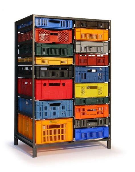 De Rangement 346 by Meuble Acier Caisses Plastique