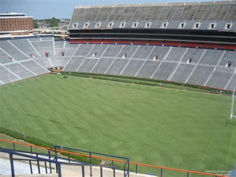 what is section 61 jordan hare stadium section 61 rateyourseats com