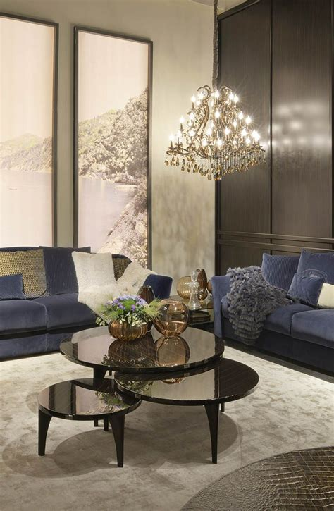 Fendi Living Room Furniture by Fendi Casa Living Room Setup For Salone Mobile 2014