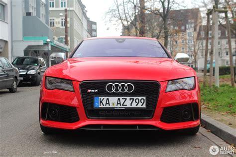 Audi Rs7 Gewicht by Audi Rs7 Sportback 22 November 2014 Autogespot