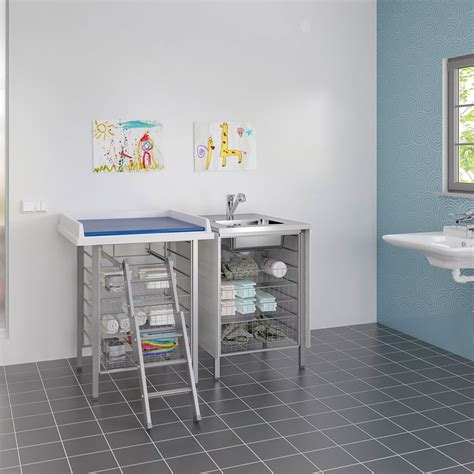 Baby Changing Table Height Changing Tables With Fixed Working Height Baby Changing Tables Granberg Interior Ab Sweden