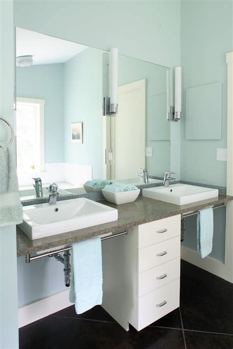 Ada Kitchen Cabinets Wheelchair Accessible Bathroom Bathroom Contemporary With