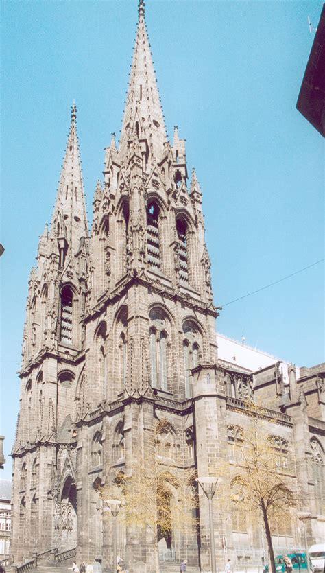 Cathédrale De La Treille by Cath 195 169 Drale Notre Dame De L Assomption De Clermont Ferrand