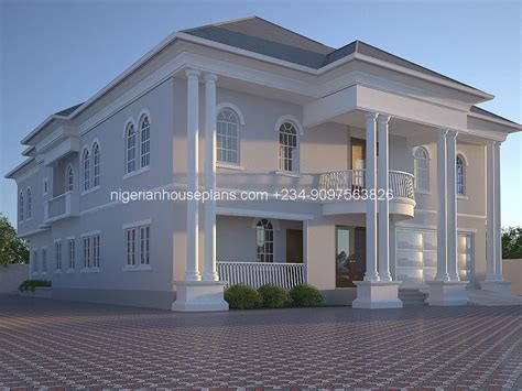 making house plans nigerian home plans house 5 bedroom duplex 111 graceful