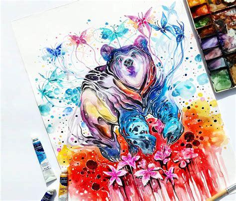 watercolor tattoo kitchener watercolor by jongkie no 746
