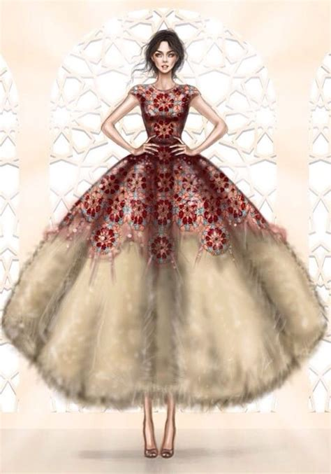 fashion illustration gown dresses illustration fashion