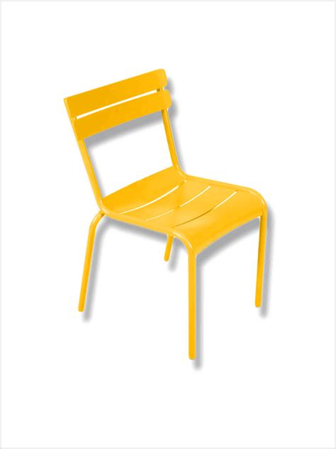 Fermob Chaise by Chaise Luxembourg Jaune Miel Fermob En Occasion Zeeloft
