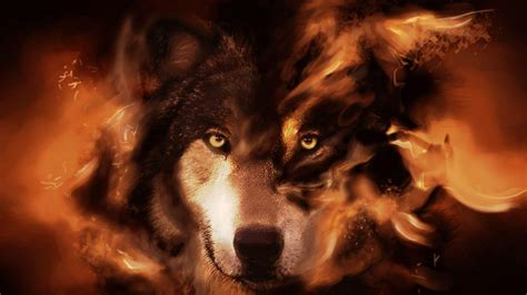wallpaper for desktop wolf fantasy wolf wallpapers wallpaper cave