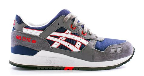 Asics Gel Lyte Iii Grey Light Blue asics gel lyte iii navy light grey sole collector