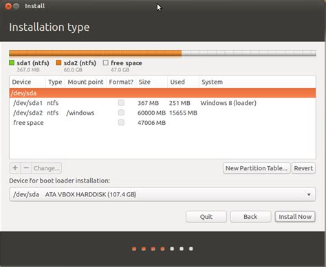 manual for ubuntu how to use manual partitioning during installation ask