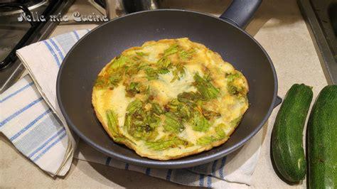 come cucinare i fiori di zucchina frittata con fiori di zucchina miriam nella cucina