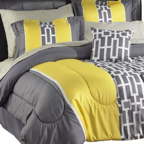 yellow twin comforter alcove sophie comforter set twin yellow gray