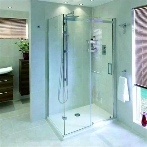 bath shower enclosures uk aqata spectra sp305 1200x800mm corner option sliding door left uk bathroom store