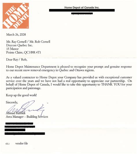 home depot letters drycore electric montreal electrical contractor