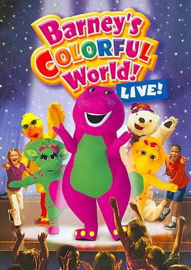 barney colorful world barney colorful world barney s colourful world live 2004