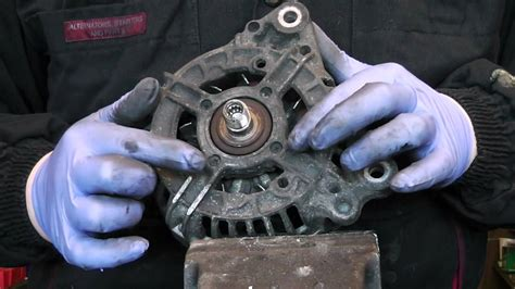 service manual how to replace alternator on a 1995 gmc suburban 2500 new alternator fits alternator front bearing change bosch and valeo tutorial youtube