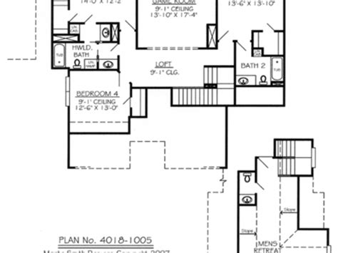 simple house plans with loft 2 bedroom house plan with loft home design and style