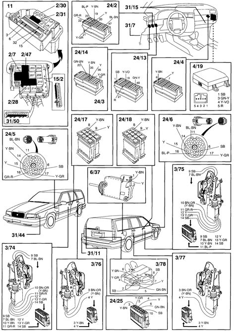 volvo 850 wiring diagram fog lights wiring diagrams