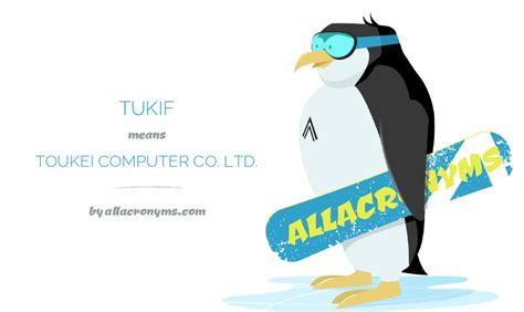 www tukif com tukif abbreviation stands for toukei computer co ltd
