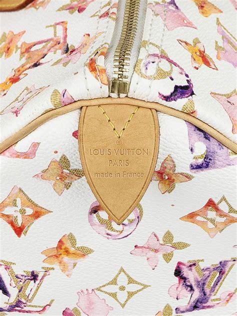 Update Marc Richard Prince For Louis Vuitton Handbag Project by Louis Vuitton Watercolor Speedy