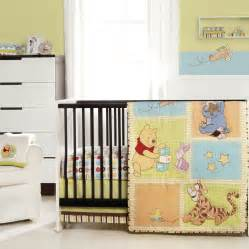 The Crib Set by Winnie The Pooh Patch 4 Crib Bedding Set