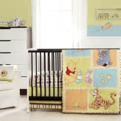 Winnie The Pooh Bedding by Winnie The Pooh Patch 4 Crib Bedding Set