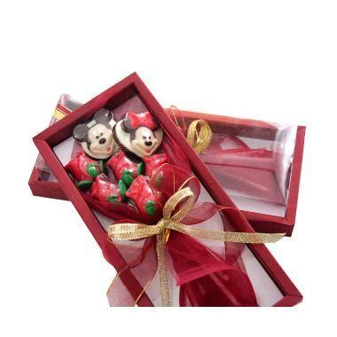 Harga Bouquet Coklat by Jual Trulychoco Bouquet Bunga Coklat Dan Mickey