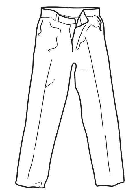 dibujo  colorear pantalones dibujos  imprimir gratis