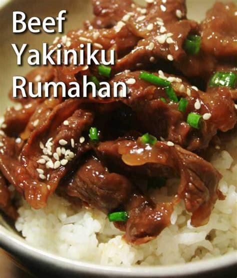 resep membuat salad sayur ala hokben resep beef yakiniku ala hokben gang dibuat di rumah