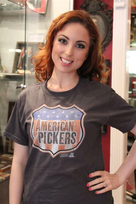 danielle american pickers tattoos american pickers danielle arrested