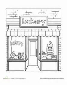 bakery coloring
