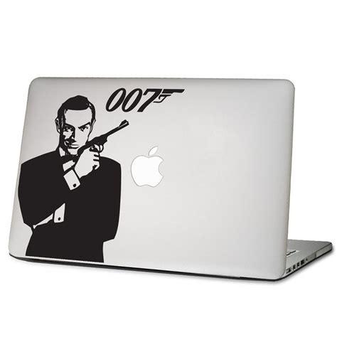 Apple Aufkleber Notebook by James Bond 007 Laptop Macbook Sticker Aufkleber