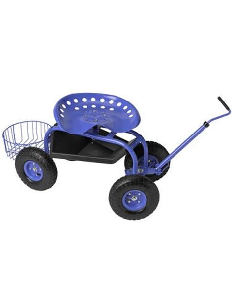Gardening Seat With Wheels by Gardening Seats On Wheels