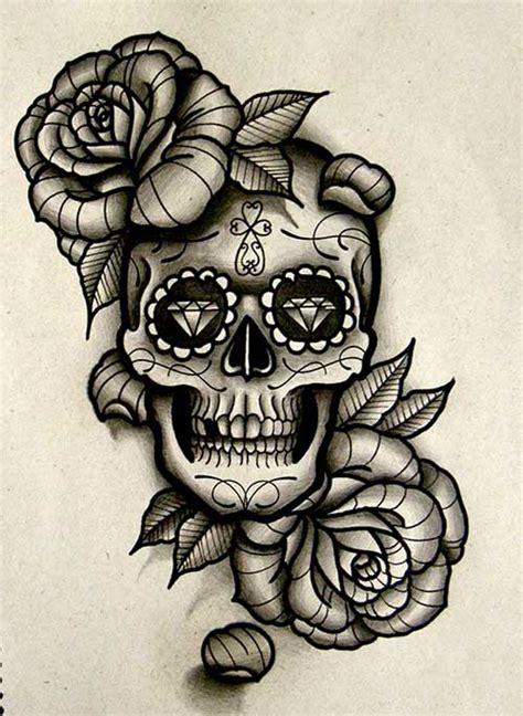 30 zucchero del tatuaggio del cranio tatuaggi e piercing