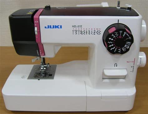 Mesin Jahit Juki Hzl 27z jual mesin jahit portable juki hzl 27z sinar toko tiga