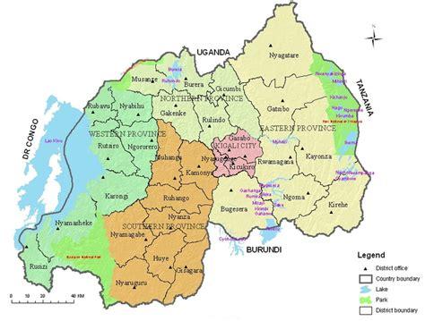 rwanda map rwanda country profile rwandapedia