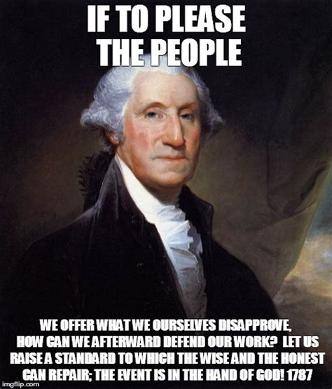 George Meme - george washington meme imgflip